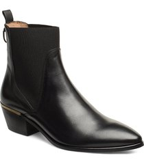 lizzi chelsea shoes boots ankle boots ankle boots with heel svart gant