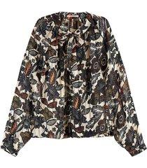 blouse jacquard multi