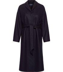 alice wool blend coat yllerock rock blå lexington clothing