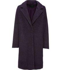 cappotto corto in simil lana (viola) - bodyflirt
