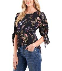 cece garden floral blouse
