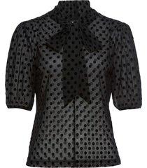 maglia in mesh (nero) - bodyflirt