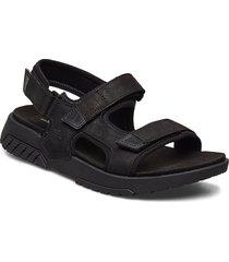 anchor watch back strap sandal shoes summer shoes sandals svart timberland