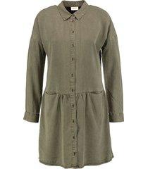 vero moda soepele lyocell blouse jurk
