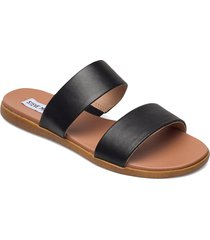 dual sandal shoes summer shoes flat sandals svart steve madden