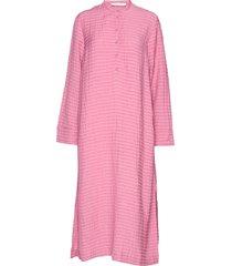 juta shirt dress 11456 maxi dress galajurk roze samsøe samsøe