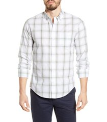 men's bonobos summer weight slim fit plaid button-down shirt