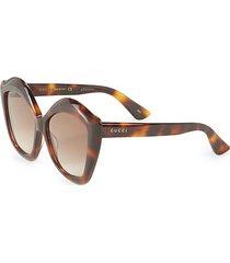 53mm oversized square cat eye sunglasses