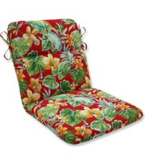 pillow perfect beachcrest poppy rounded corners chair cushion