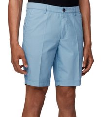 boss men's turquoise slice-shorts