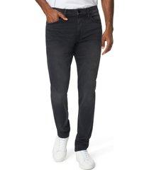 men's joe's the rhys athletic slim fit jeans, size 30 - black
