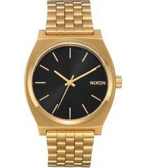 women's nixon 'time teller' bracelet watch, 37mm