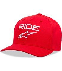 gorro ride 2.0 rojo alpinestars