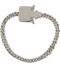 1017 alyx 9sm chainlink bracelet - silver