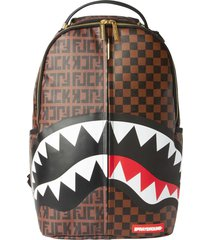 sprayground split the check backpack 910b3249