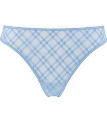 gloria 4 cm thong |  sky blue - xl