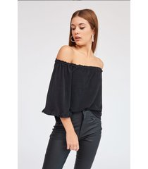 blusa negra 47 street magic