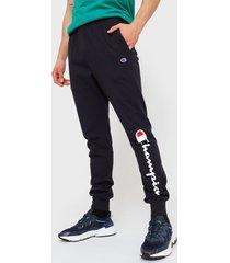 jogger champion jersey jogger pant graphic azul - calce regular