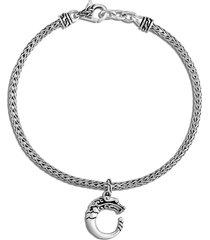 'legends naga' silver charm bracelet