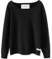 bluza męska czarna premium rome lukani wear