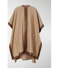 burberry double-faced cashmere cape