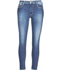 skinny jeans le temps des cerises pulp slim taille haute 7/8