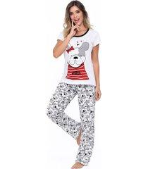 pijama mujer conjunto pantalón 11419