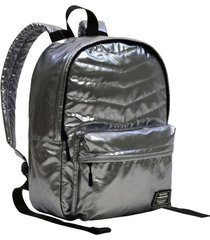 mochila urbana space metallic plata head