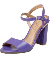 sandalia violeta ramarim
