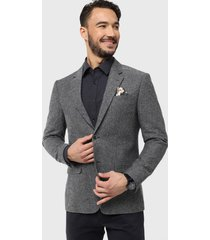 blazer tweed gris arrow