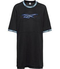 cl bball dress kort klänning svart reebok classics