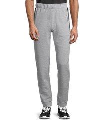 puma men's cotton sweatpants - grey - size s