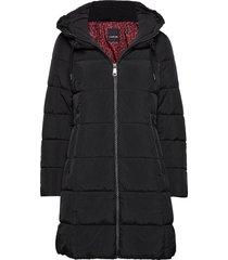 outdoor jacket no wo fodrad rock svart taifun
