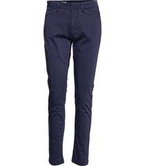 pants byxa med raka ben blå signal