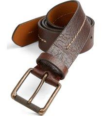 men's trask 'dagmar' belt, size 42 - bourbon