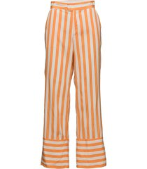 rubi wijde broek oranje custommade