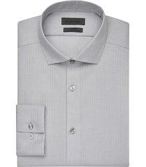 calvin klein men's infinite slate jacquard slim fit dress shirt - size: 16 1/2 38/39