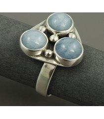 akwamaryny - pierścionek