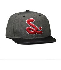 boné simple skateboard snapback college