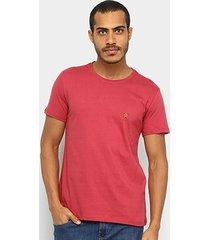 camiseta acostamento básica lisa masculina - masculino