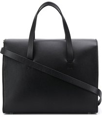 aesther ekme mini barrel tote bag - black