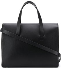 aesther ekme new mini barrel tote bag - black