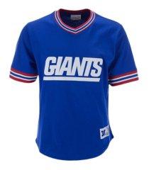 mitchell & ness men's new york giants huddle up t-shirt