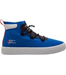 scarpe sneakers alte uomo arrow pepsi