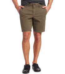 rag & bone men's classic chino shorts - army - size 36