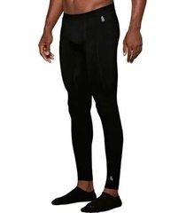 calã§a tã©rmica masculina lupo esportes underwear warm preto - preto - masculino - dafiti