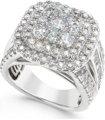 diamond ring (3 ct. t.w.) in 14k white gold