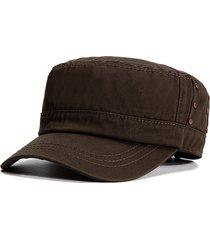 cappellino militare da uomo in cotone traspirante con protezione solare da uomo