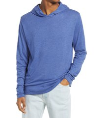 men's alternative longline pullover sleep hoodie, size xxx-large - blue
