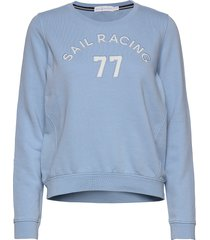w grinder sweater sweat-shirt tröja blå sail racing